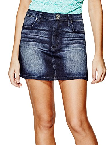 GUESS Women's Shylow Denim Skirt