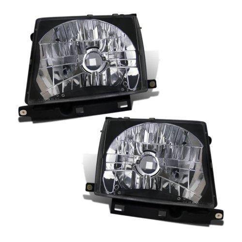 SPPC Headlights Black For Toyota Tacoma - (Pair) (Toyota Tacoma Black Headlights compare prices)