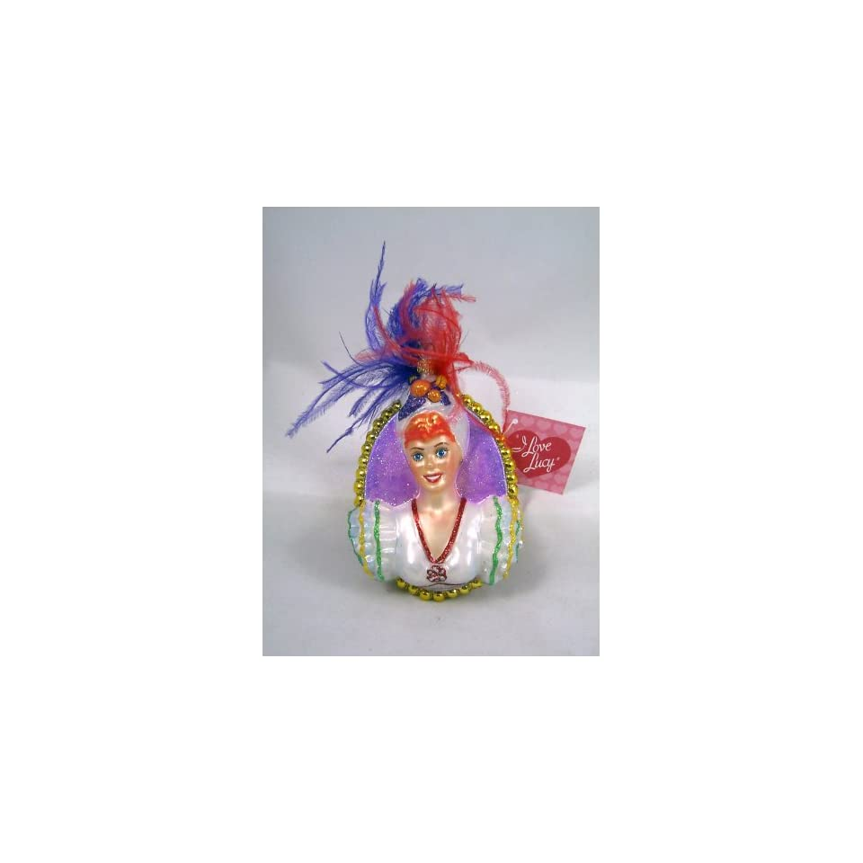 I LOVE LUCY Lucille Ball Carmen Polonaise Ornament NEW