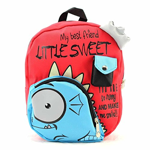HUIB-Kid-Backpack-Cute-3D-Dinosaur-Cartoon-Animal-Bag-My-Best-Friend-AB047