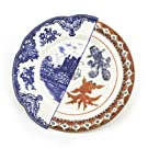 Isaura Fine Bone China Hybid Dinner Plate by Seletti