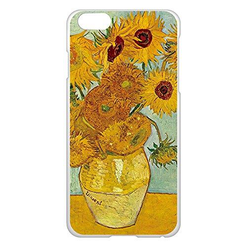 iPhone6/6s Plus ケース カバー 5.5インチ 西洋名画 フィンセント・ファン・ゴッホ ひまわり /クリア