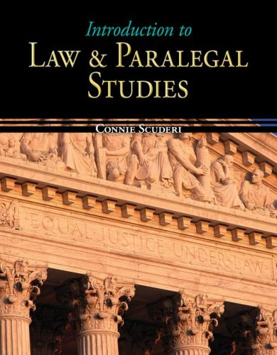 Introduction to Law & Paralegal Studies