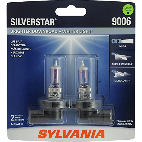 SYLVANIA 9006 SilverStar High Performance Halogen Headlight Bulb, (Contains 2 Bulbs) (Honda Accord 2000 Halogen compare prices)
