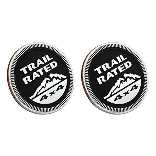 Car Styling Accessories Jeep Black Trail Rated 4x4 Emblem