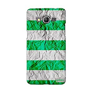 Gobzu Printed Back Covers for Samsung Galaxy Grand Prime (SM-G530H) - Paper Green