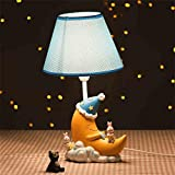 Uncle Sam LI-Kreative Mode Cartoon Mond Tischlampe