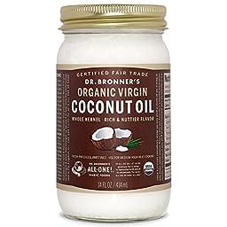 Dr. Bronners - Magic Fresh-pressed Virgin Coconut Oil Whole Kernel Unrefined - 14 Oz.