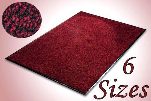 Everest Floor Mat - SKY - 135x200cm - Red/Black - Outdoor and Indoor Use (e.g. Garden, Office, Front Door, Garage)