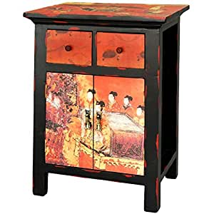 Oriental furniture discontinued feb 2011 26 inch ming for Asian furniture emeryville ca