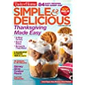 1-Year Simple & Delicious Magazine