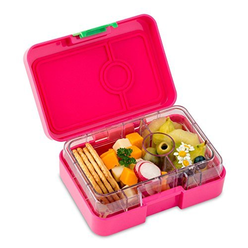 YUMBOX MiniSnack Leakproof Snack Box (Cherie Pink) packs snacks.NEW