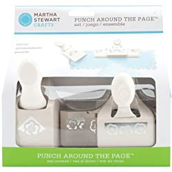 Martha Stewart Crafts Punch Around the Page, Pansy Punch Set