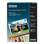 Epson Presentation Paper Matte, 8.5 x...