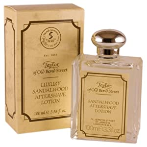 Taylor of Old Bond Street Luxury Sandalwood Aftershave Lotion - 100ml