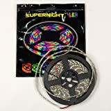 SUPERNIGHT (TM) Blue 5M Waterproof 300 LEDS 5050 SMD Flexible LED Light Lamp Strip 12V