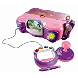 V.Smile - Jeu �lectronique -  Console Rose Dora - Nouvelle versionpar Vtech