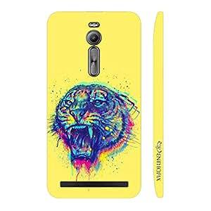 Enthopia Designer Hardshell Case Tiger Roar Back Cover for Asus Zenfone 2