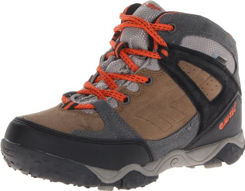 Hi-Tec Kid's Tucano Waterproof Junior Light Hiking Boot (Toddler/Little Kid/Big Kid),Desert/Black/Tangelo,10 M US Toddler