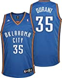 NBA Oklahoma City Thunder Kevin Durant #35 Youth Replica Road Jersey, Blue