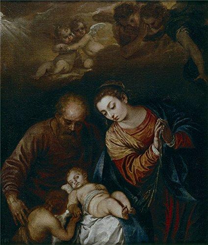 the-polyster-canvas-of-oil-painting-escalante-juan-antonio-de-frias-y-la-sagrada-familia-mediados-de