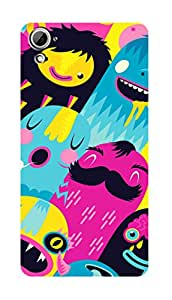 SWAG my CASE PRINTED BACK COVER FOR HTC DESIRE 826 Multicolor