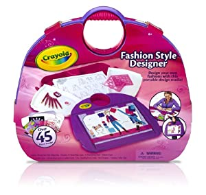 Crayola fashion style designer toys games Crayola fashion design studio reviews