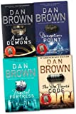 Dan Brown Robert Langdon Series Collection Dan Brown 4 Books Set (Deception Point, etc)