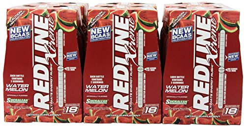 Vpx Redline Xtreme Energy Rtd Beverage, Watermelon, 8-Ounce Bottles (Pack Of 24)