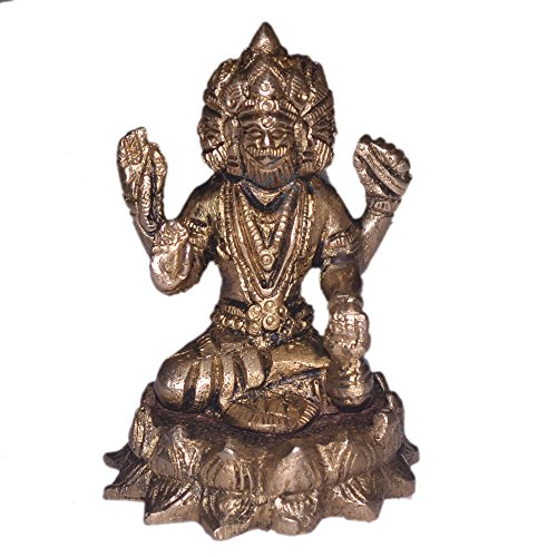 brahma-idol-in-messing-hindu-religion-gott-skulptur