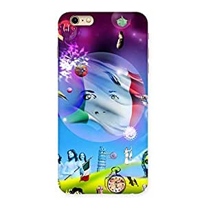 Enticing Wonder World Multicolor Back Case Cover for iPhone 6 Plus 6S Plus