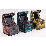 Snappi Arcade Machine (Blue) Genuine Arcade Video Game Play Classic (Mini Game Machine) TOY