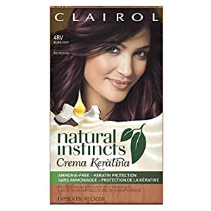 Amazon.com : Clairol Natural Instincts Crema Keratina Hair Color Kit