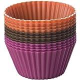 Chicago Metallic Baking Essentials Silicone Baking Cups, Set of 12