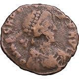 395AD Ancient Roman Coin EMPEROR ARCADIUS Victory Angel ~ Ancient Rome