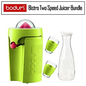 Bodum K11149565US Bistro Two Speed Juicer Green