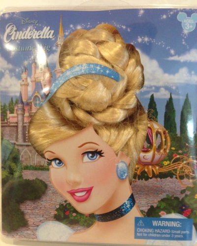 Disney Park Cinderella Dress Up Wig Girls