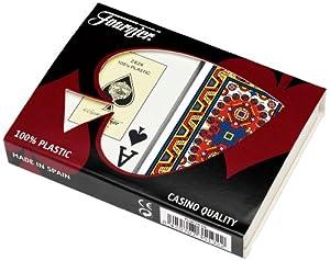 Fournier Maya Bridge Size Jumbo Index Playing Cards