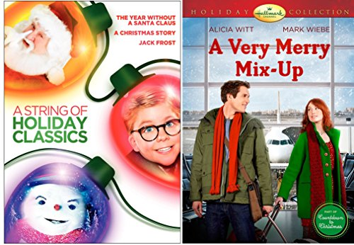 A Christmas Story DVD & A Very Merry Mix-Up A Year without a santa - Jack Frost Holiday Movie Set (Merry Mix Up Movie compare prices)