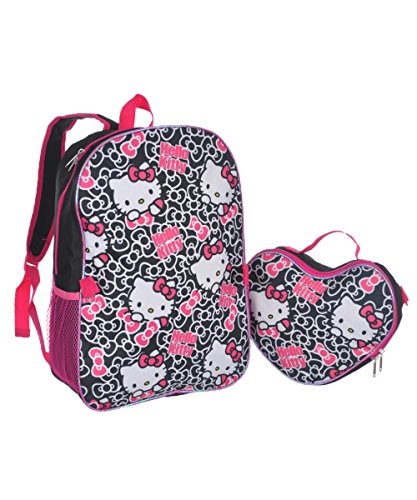 Hello-Kitty-Bow-Pile-Backpack-with-Lunchbox