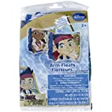 Disneys Jake And The Neverland Pirates Inflatable Pool Arm Floats (Floaties) Toy, Kids, Play, Children
