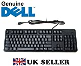 DELL USB Keyboard BLACK SLIM US English Layout QWERTY Brand New and Boxed , Dell P/Ns : GY81R , VYNXX , NXV26 , 1HF27 , FREE DELIVERY