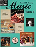 Re/Search #15: Incredibly Strange Music, Volume II