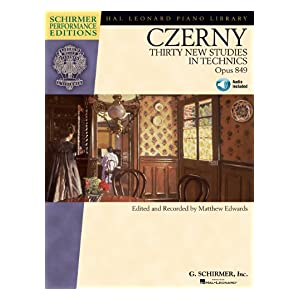 【クリックで詳細表示】Carl Czerny - Thirty New Studies in Technics, Op. 849: Schirmer Performance Editions Series 電子書籍: Matthew Edwards: Kindleストア
