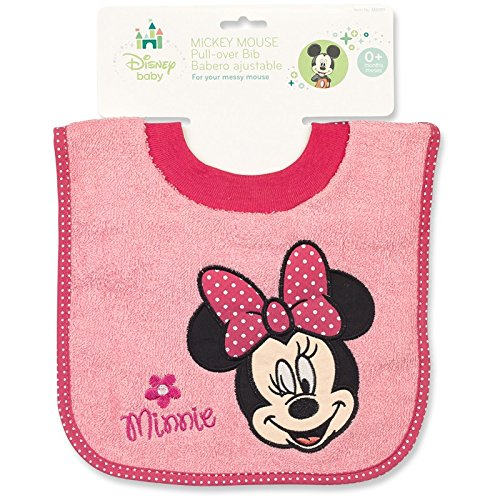 Minnie Mouse Terrycloth Pullover Baby Bib