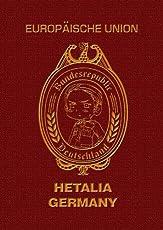 ヘタリア パスポートメモ(ドイツ)