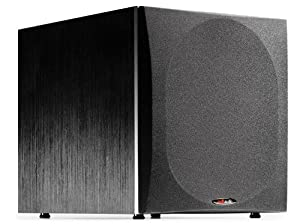 Polk Audio PSW505 12-Inch Powered Subwoofer (Single, Black)