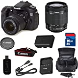Canon 70D Digital SLR Camera with EF-S 18-55mm f/3.5-5.6 IS STM Lens + High Speed 16GB Memory Card + High Speed Reader + 5pc Bundle - International Version