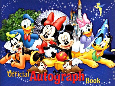 Walt Disney World Official Autograph Book