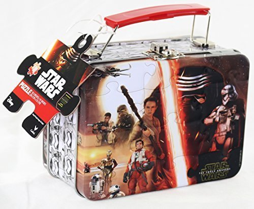 Star Wars 7 The Force Awakens Mini Jigsaw Puzzle with Lunch Tin Box